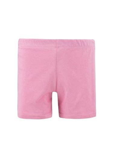 DeFacto Kız Çocuk Unicorn Baskılı Kısa Kollu Pijama Takımı Pembe